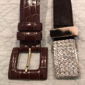 Accessories - 2 beautiful leather belts